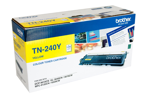 Brother DCP9010CN Yellow Toner Cartridge (Genuine)