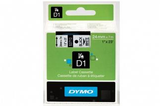 DYMO SD53713 Black on White 24MM X 7M Tape (Genuine)